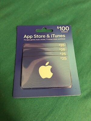 $100 App Store and iTunes Gift Card Multipack