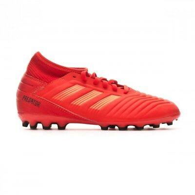 Scarpe da calcio adidas Predator 19.3 AG Junior Active red-Solar red-Core  black f6bd7467416