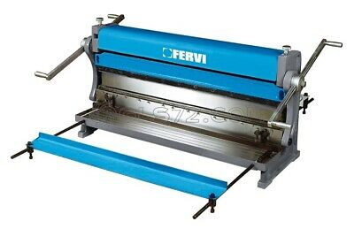 3 IN 1 METAL WORKING SHEAR PRESS BRAKE AND SLIP ROLL 1000 mm FERVI 0334/1000