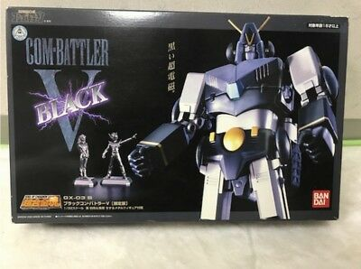 BANDAI Soul Of Chogokin GX-03B Black COMBATTLER V Limited Edition Action Figure