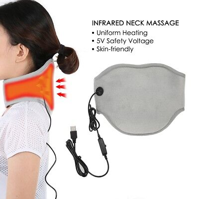 Infrared Light Electric Neck wrapped Shoulder Body Tapping Heating With Massager
