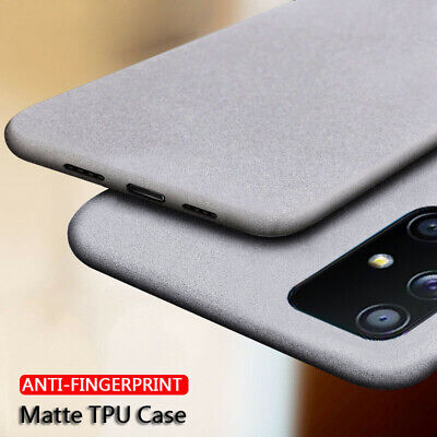 For Samsung Galaxy A7 2018 S10+ Slim Soft Matte Rubber Silicone Phone Case Cover