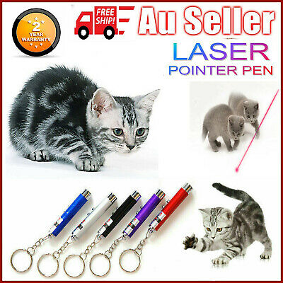 Cat Dog Kitty Fun pointer light Laser Pointer LED Training torch toys AU STOCK