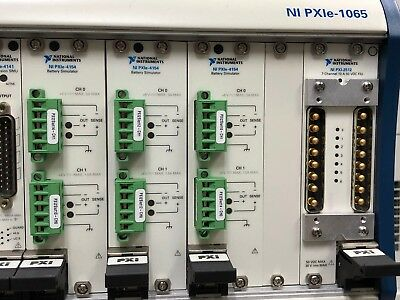 NI PXI 2512,7-Channel, 10 A PXI Signal Insertion Switch Module