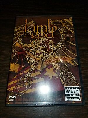 Lamb of God - Killadelphia (DVD, 2005, 2-Disc Set, DVD+CD) rare OOP