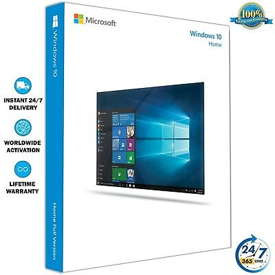 Windows 10 Home 32/64 Bit ✔ Clave de Licencia Original ✔ Activacion en Linea