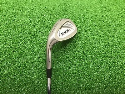 NICE Tommy Armour Golf 845s Silver Scot SAND WEDGE Left LH Steel REGULAR SW Used