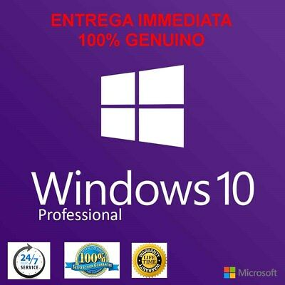 Windows 10 Professional Pro 32/64 Bit ✔ Licencia Original ✔ Activacion en Linea