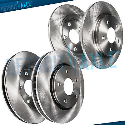 2005 2006 2007 For Jeep Liberty Coated Front /& Rear Brake Rotors /& Pads