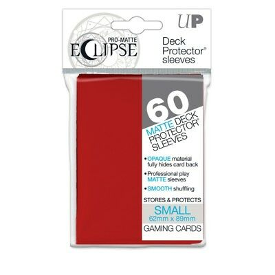 PRO-Matte Eclipse Red Small Size (60 bustine protettive)