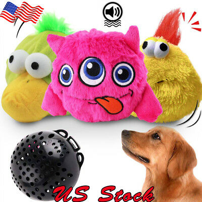 Dog Toys Interactive Plush Automatic Shake Crazy Bouncer Toys for Puppy Cat Pets