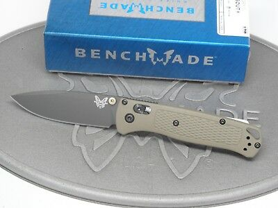 Benchmade 535GRY-1 Bugout S30V DLC Axis Ranger Green Grivory Folding Knife NEW