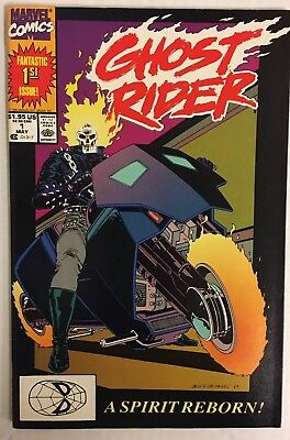 Ghost Rider #1 (1990) Vol 2 NM Condition Marvel