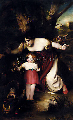 Thomson Henry Mother Finding Her Infant Playing With Talons Dragon Reproduction