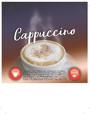 Incup - Cappuccino - 300 Becher je15 g - Instant
