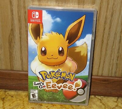 Nintendo SWITCH - POKEMON LET'S GO EEVEE (Brand NEW Sealed) FREE Ship USA