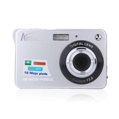 18MP Smile Capture Mini Digital Camera
