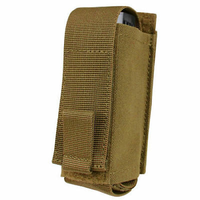 CONDOR Ajustable Pepper Spray OC Pouch MOLLE Belt Mounted Coyote Brown