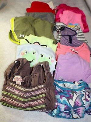 15 Pc Mixed Lot Girls Size 6-14 Under armour, circo, justice, gymboree etc
