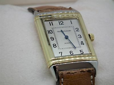 Jaeger Le Coultre Reverso 18ct Gold and Stainless Steel