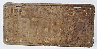 1931 IDAHO License Plate Collectible Antique Vintage 107-877