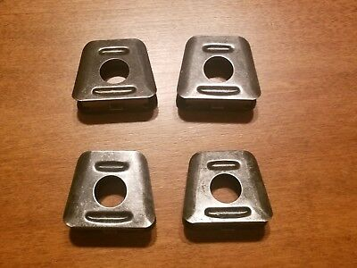 Original French Mannlicher Berthier 8mm Lebel 3 Round Stripper Clips - Set of 4