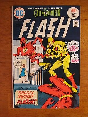 FLASH #233 Super-Bright, Colorful & Glossy! (VF+) Stunner!