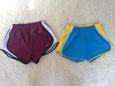 NIKE womens Dri-Fit Lined Running Shorts XS Lot Tempo Athletic Live Strong #N67