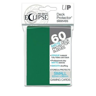 PRO-Matte Eclipse Forest Green Small Size (60 bustine protettive)