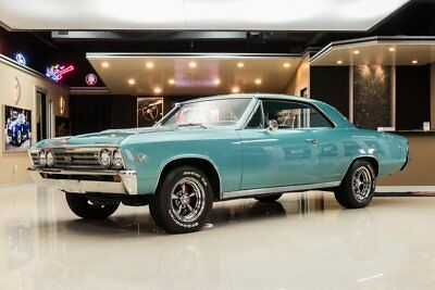 1967 Chevrolet Chevelle  396CI, 4 Speed, Power Steering, Power Brakes, Gorgeous Restore, Tahoe Turquoise