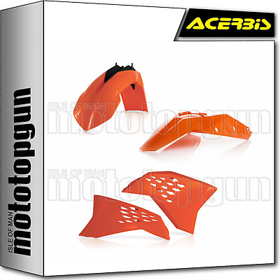 Acerbis Plastic Kit Orange Ktm Sx-F 250 2007 07 2008 08 2009 09 2010 10