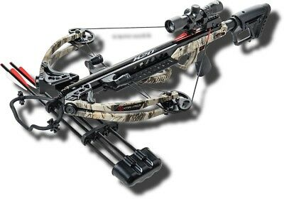 New Bear Archery Karnage Crossbows Apocalypse Crossbow Package, 370 Fps