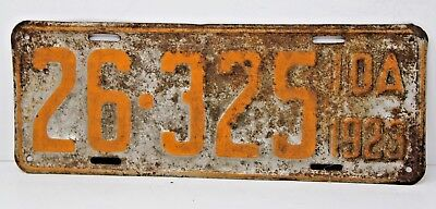 1923 IDAHO License Plate Collectible Antique Vintage 26-325
