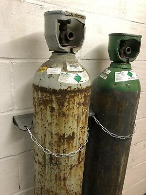 Double Gas Bottle Holder , Security Device , Health Amd Safety