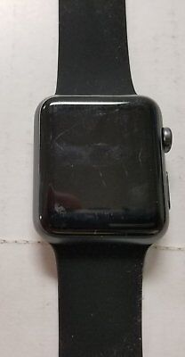 Apple Watch 1st Gen Sport Series 7000 42mm 8GB Space gray With Black Sports band