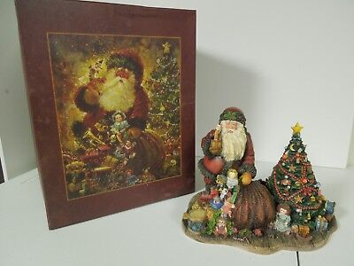 "Lang & Wise 1999 Sherwood's Magical Christmas Collec.  ""Santa's Magical Tree"""