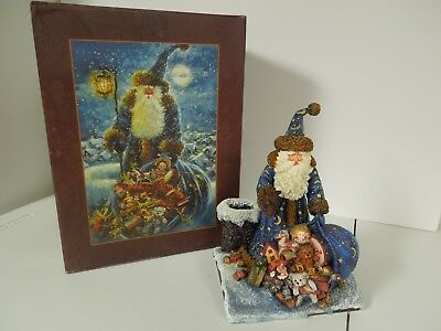 "Lang & Wise 1999 Sherwood's Magical Christmas Collec.  ""Preparing For A Visit"""