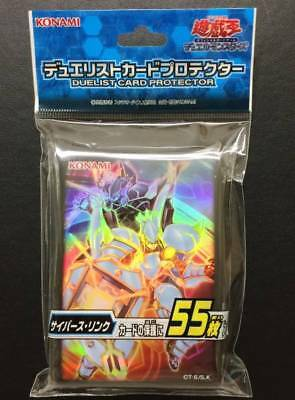 Yugioh Official Card Sleeve Protector Cyberse Link (55 Sleeves) Japanese