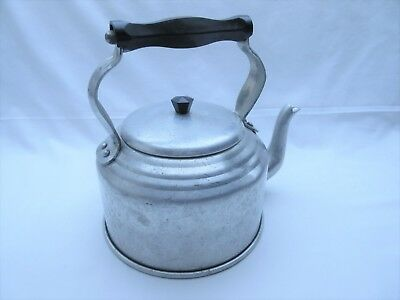 Vintage retro Crescent brand kettle for display stage prop
