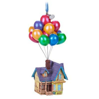 Disney Store 2018 Up House with Balloons Sketchbook Christmas Ornament