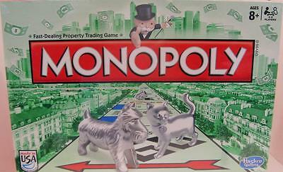 Monopoly~Brand New In Sealed Box~2014 Board Game~Hasbro/Parker Brothers~With Cat
