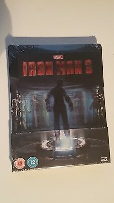 Blu-Ray Steelbook Iron Man 3 - Zavvi Exclusive Lenticular - NEUF !!!