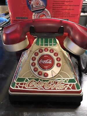 2001 Retro Style Coca Cola Light-Up Phone