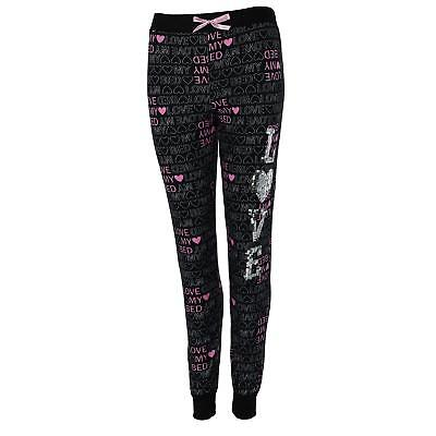 New Mentally Exhausted Women's Banded Bottom Pajama Pants