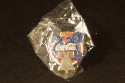 1997 Coca Cola 4th of July Pin Liberty Bell
