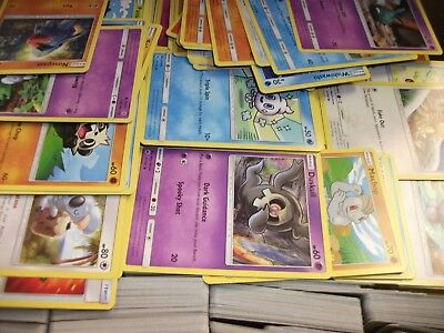 Pokemon TCG 500 Card Bulk Lot- Commons & Uncommons