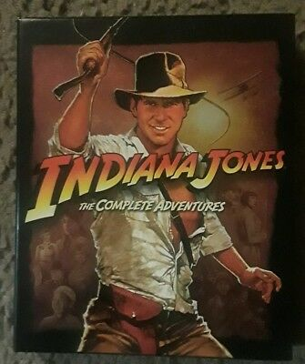 Indiana Jones The Complete Adventures (4 Movie Boxed Set On Bluray)