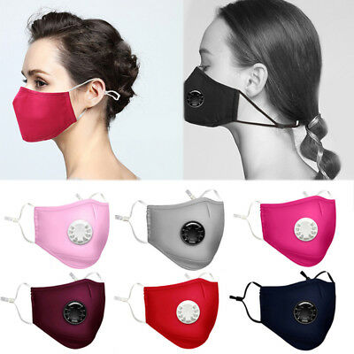 Dust Mask PM2.5 Outdoor Riding Mask Haze Filter Protection Face Mouth Respirator