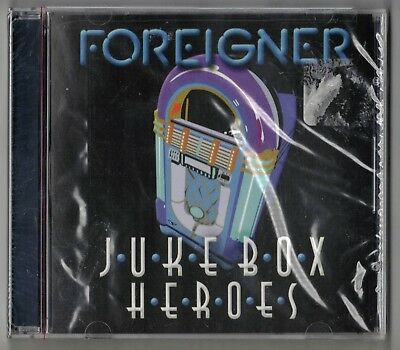 Brand NEW Foreigner - Jukebox Heroes CD Trigger Production Album