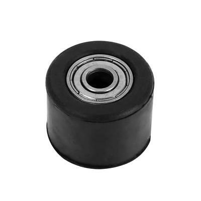 8mm Motorcycle Motorbike Rubber Black Chain Pulley Roller Tensioner Wheel Guide